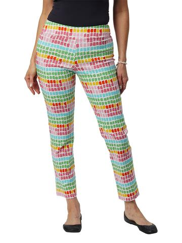 Rainbow Squares Pull-on Pant – Krazy Larry