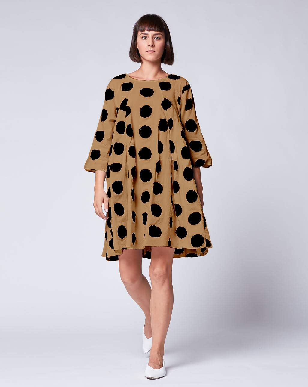 Polka Dot Babydoll Dress – Amici