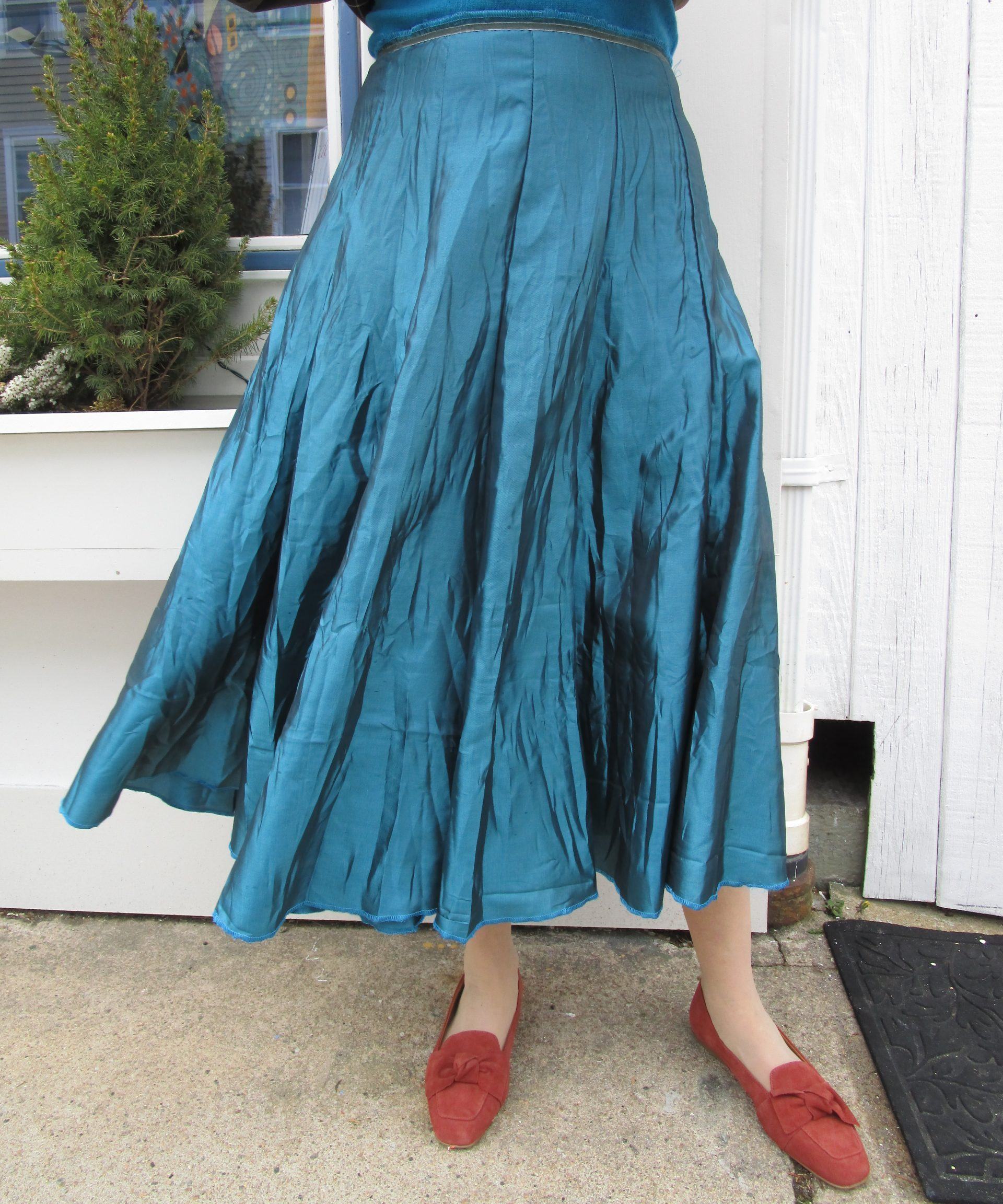 Taffeta Crinkle Skirt – More Colors – Van Klee