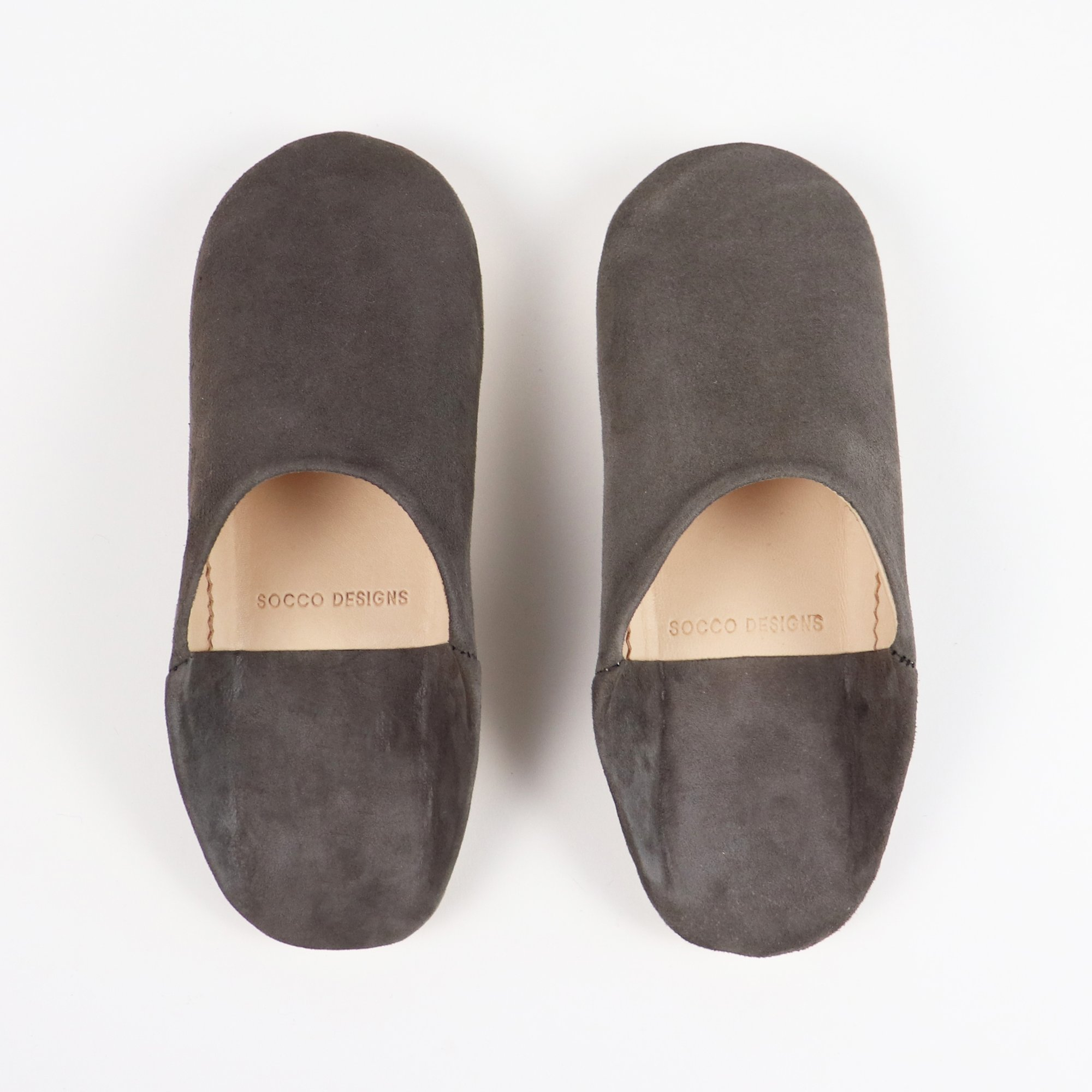 Babouche Suede Slippers – Socco
