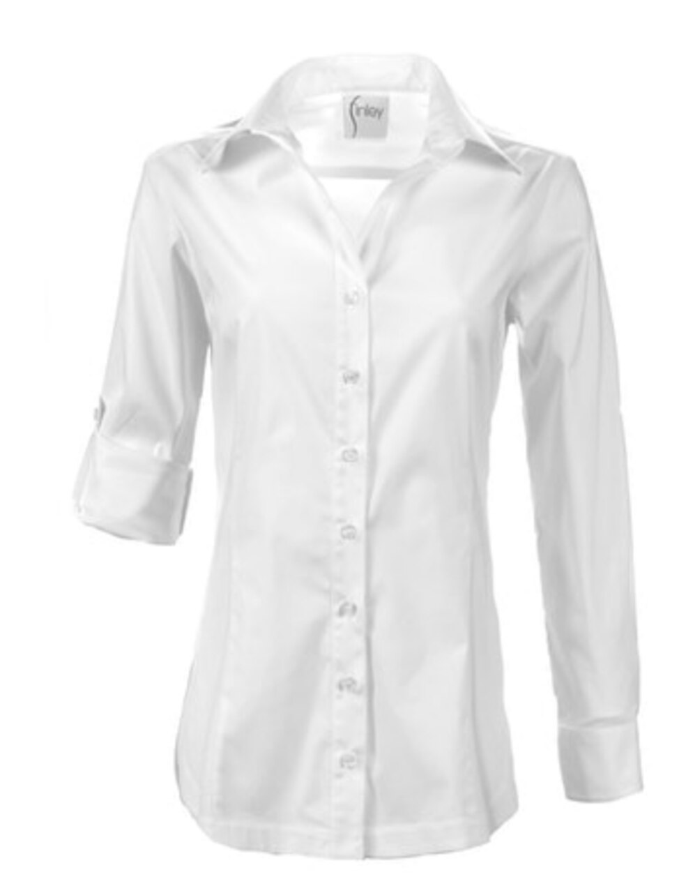 Cotton Poplin Classic Tailored Shirt – Finley