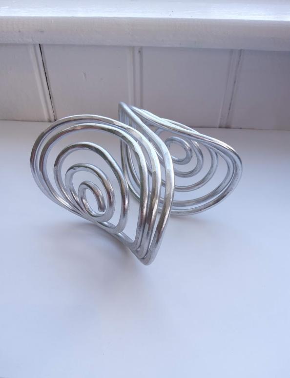 Spiral Cuff Bracelet – OC Designs