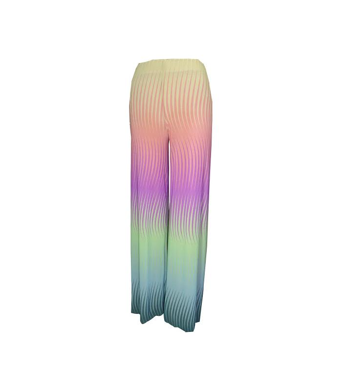 Aquarius Rainbow Palazzo Pant – Petit Pois