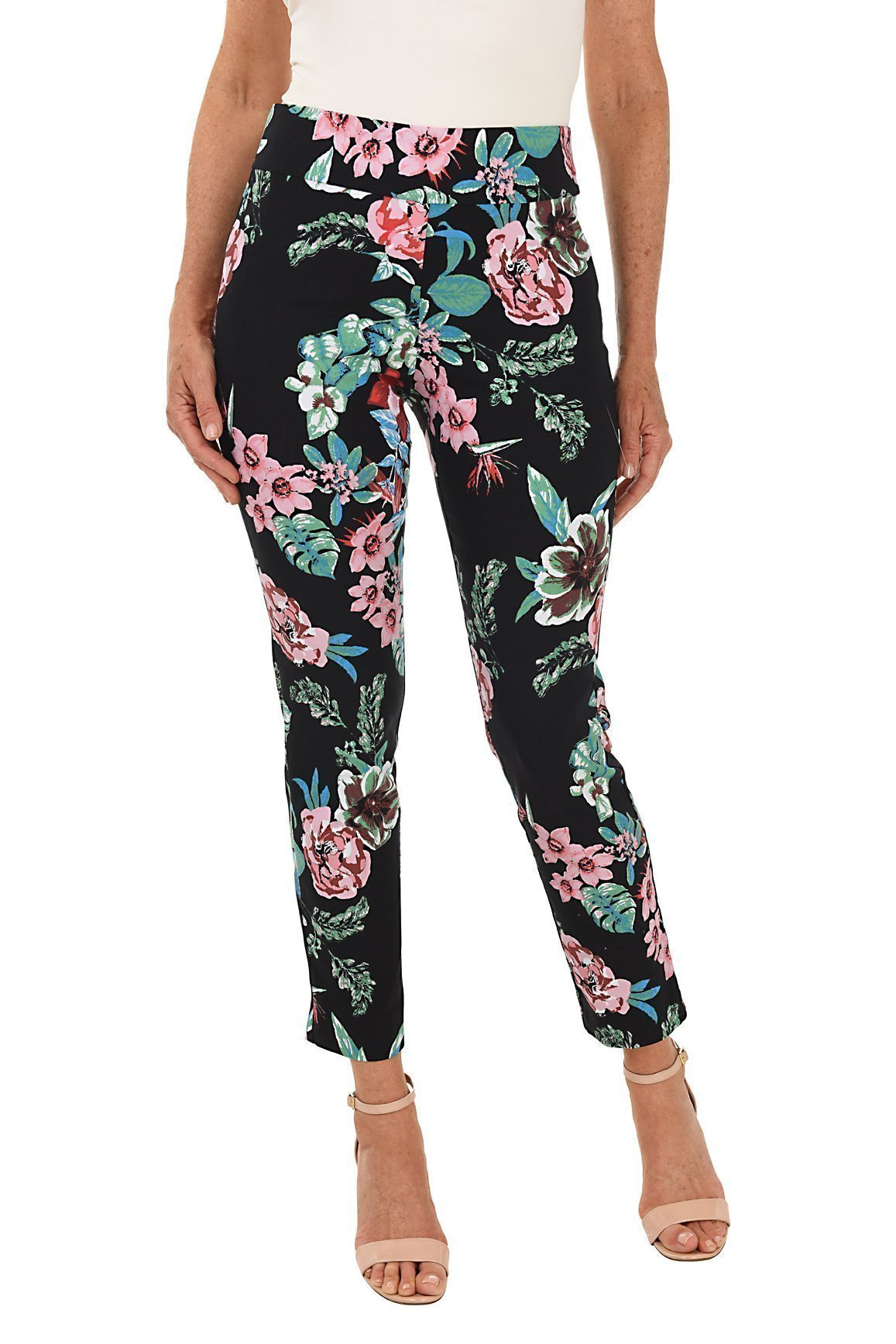 Straight Leg Pull-on Pant – Solids And Prints – Krazy Larry