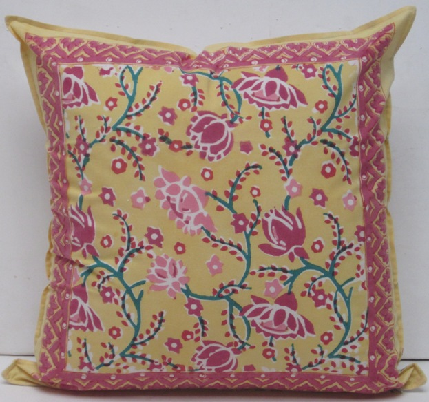 Block Print Pillows
