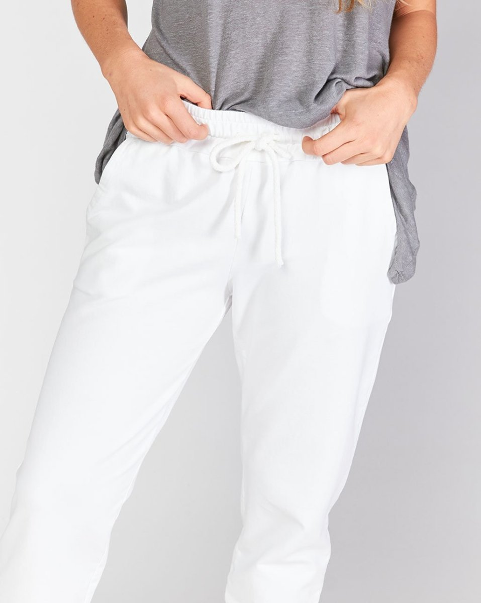 Drawstring Pocket Open Leg Sweatpant – Baci